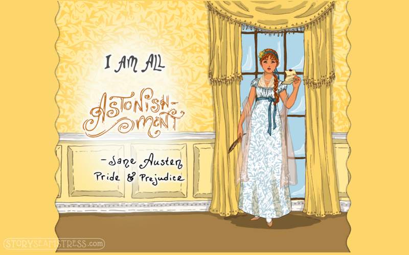 All Astonishment (Jane Austen Dress Up App) by frivolousdistinction