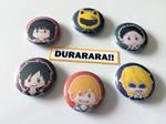 DURARARA!! Buttons