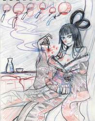 Yuuko Painting progress