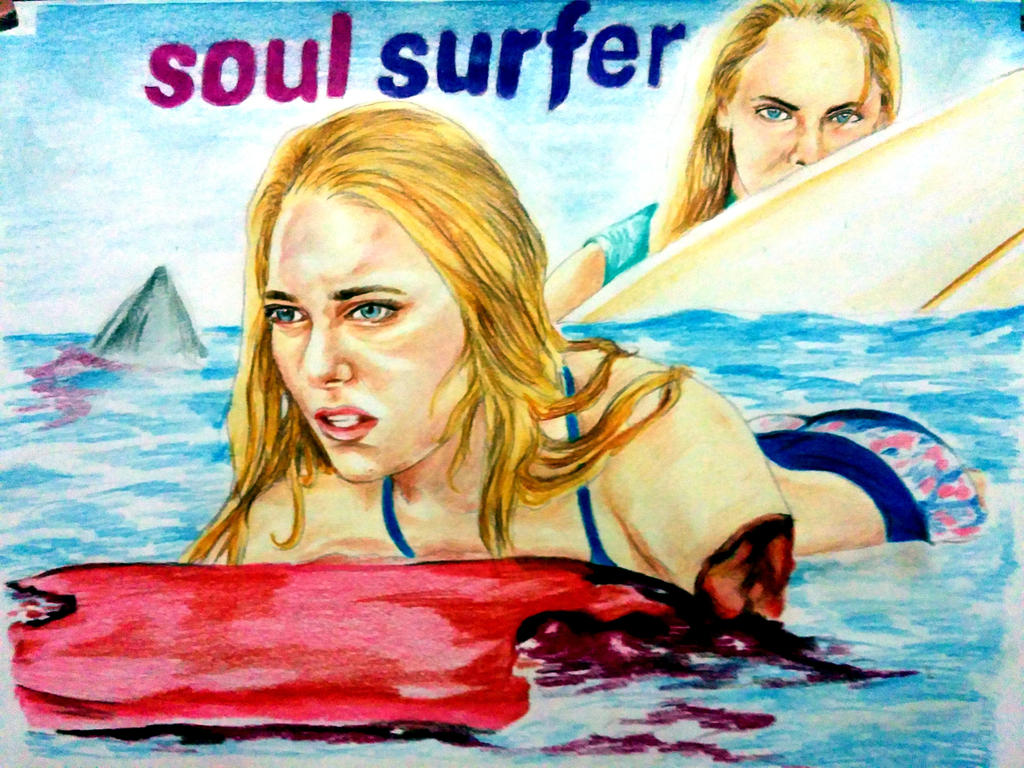Soul Surfer Shark Attack Annasophia Robb By Bega36 On Deviantart