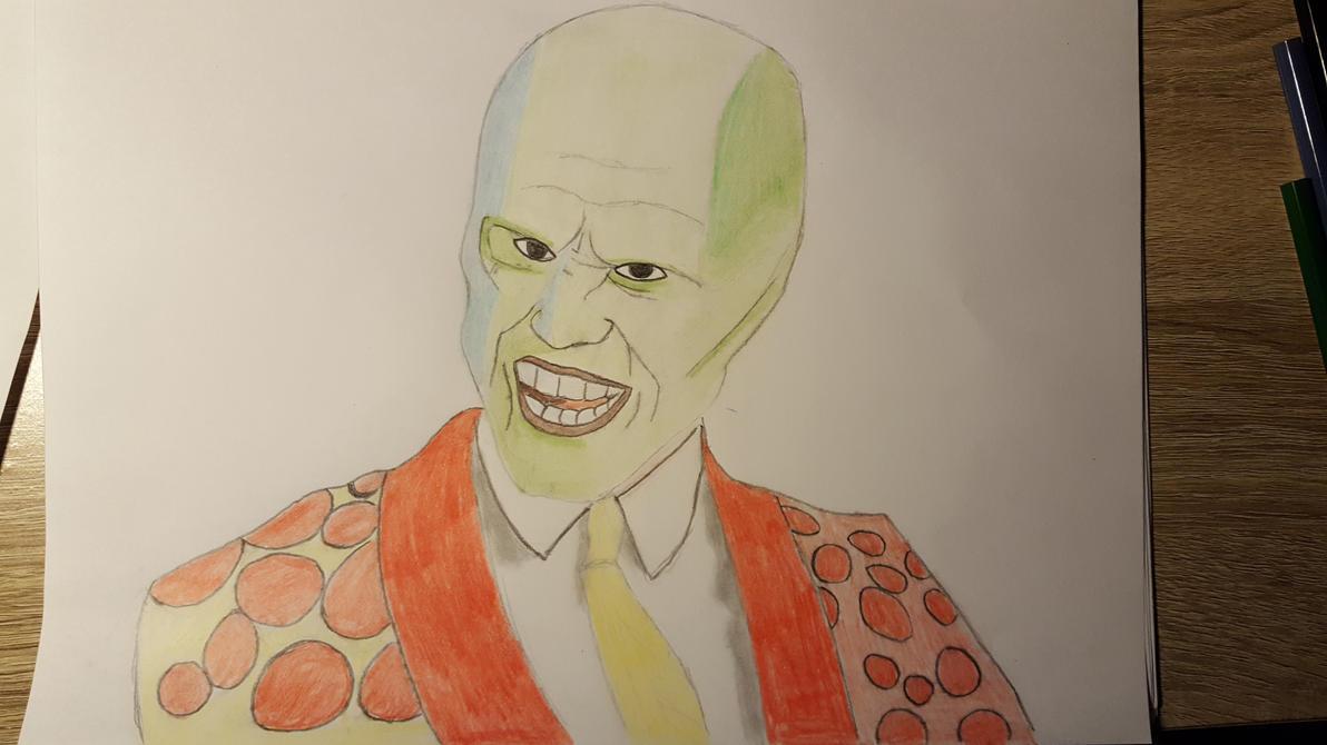 The Mask Jim Carrey by kestovaari