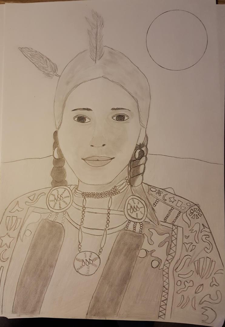 native american by kestovaari