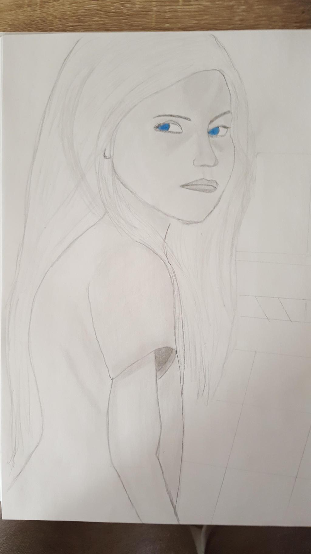 girl looking back by kestovaari