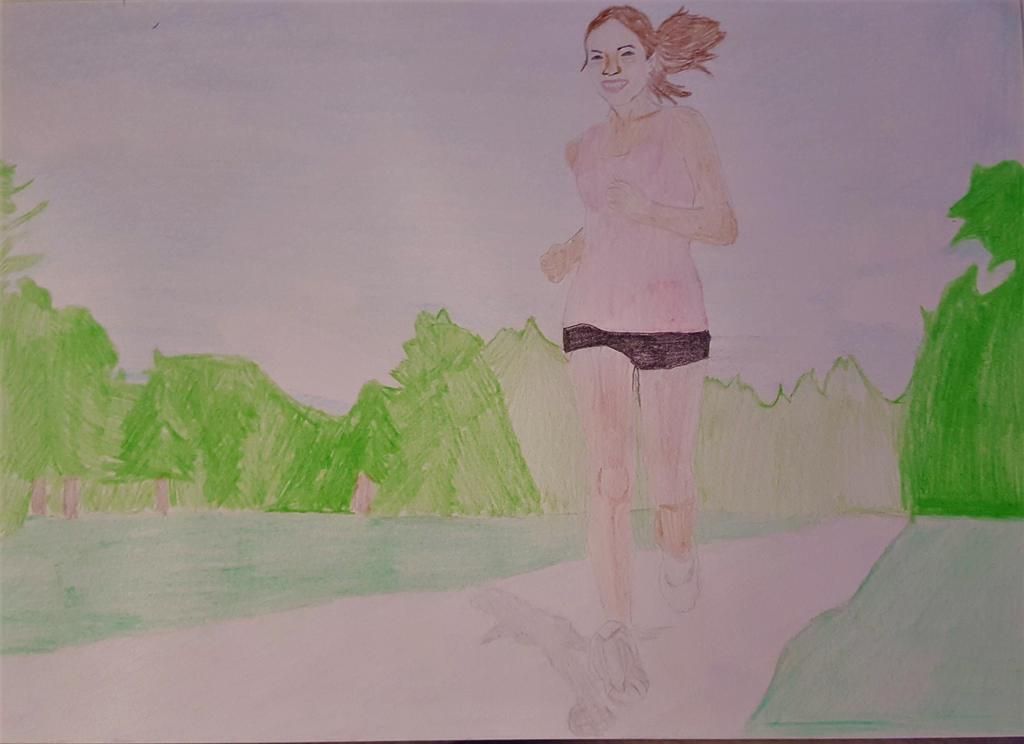 running woman by kestovaari