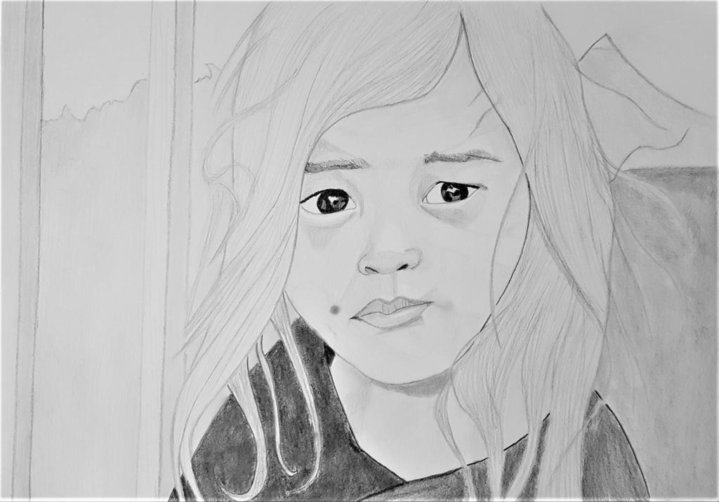 sad girl by kestovaari