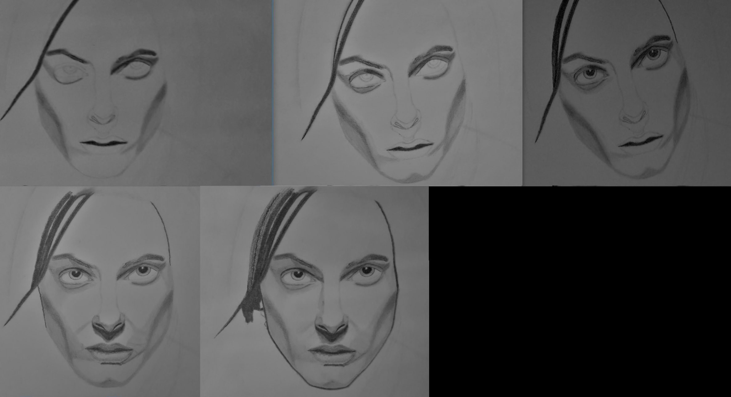 Pandorum Antje Traue realism progress exercise by kestovaari