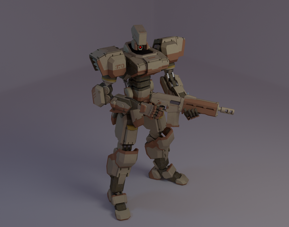 Patrol robot B370 by Steyfer