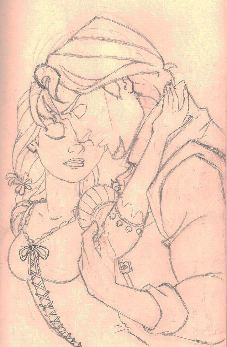 Rapunzel and Flynn 001 by Margherita13 on DeviantArt for tangled rapunzel and flynn drawing  75sfw