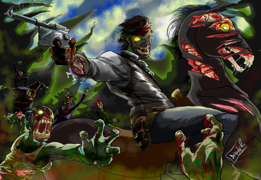 Red Dead nightmare by Furrysketch
