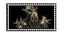 Skyrim: Miraak Stamp by Random-Butterfly