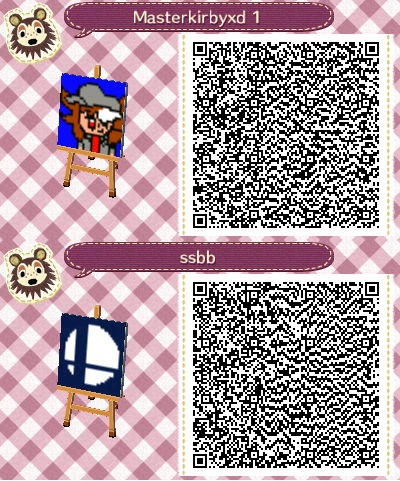 Animal Crossing New Leaf My Partten Qr Code By Marc345 On Deviantart