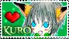 Stamp -my OCC- Kuro by nakuchan9095