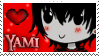 Stamp -my OCC- Yami by nakuchan9095