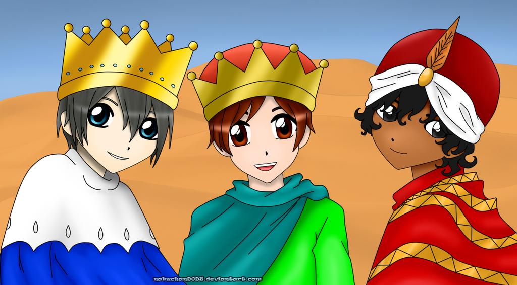 Reyes Magos: Melchor, Gaspar Y Baltasar By Nakuchan9095 On