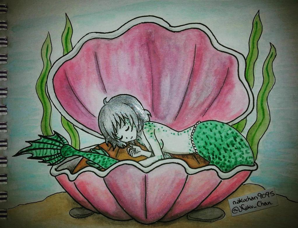 Mermay Day 10 - Dreaming by nakuchan9095