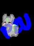 P2U Chibi base with Cotton mouth parts