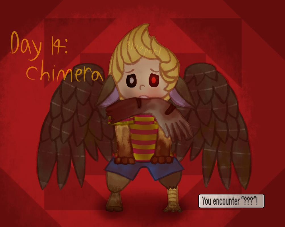 [GORETOBER 2018] DAY 14: Chimera by BluePorl