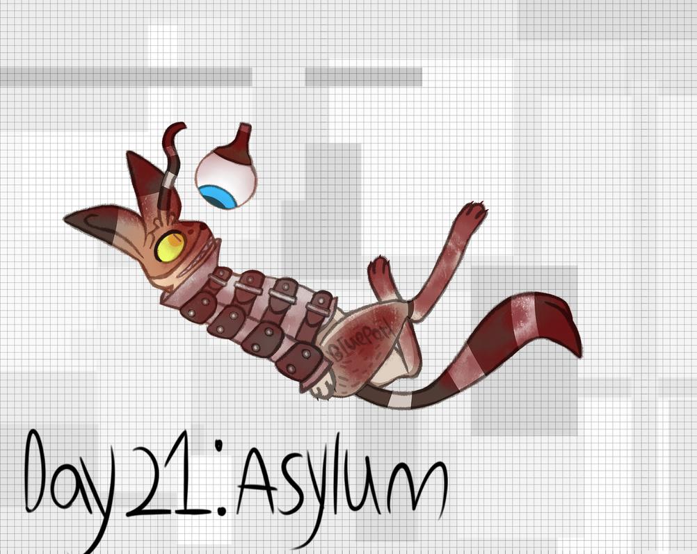 [GORETOBER 2018] DAY 21: Asylum by BluePorl