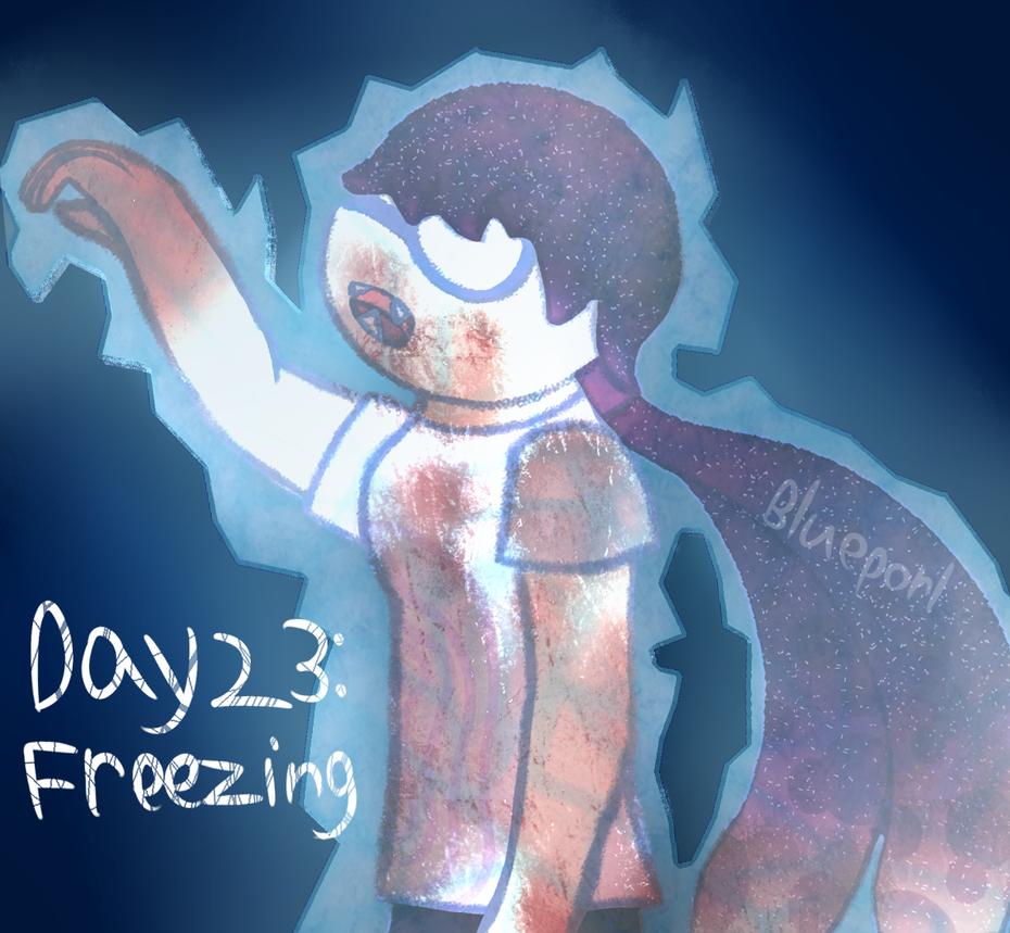 [GORETOBER 2018] DAY 23: Freezing by BluePorl