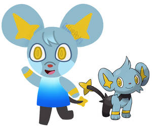 [+Speedpaint] Shinx villager!!