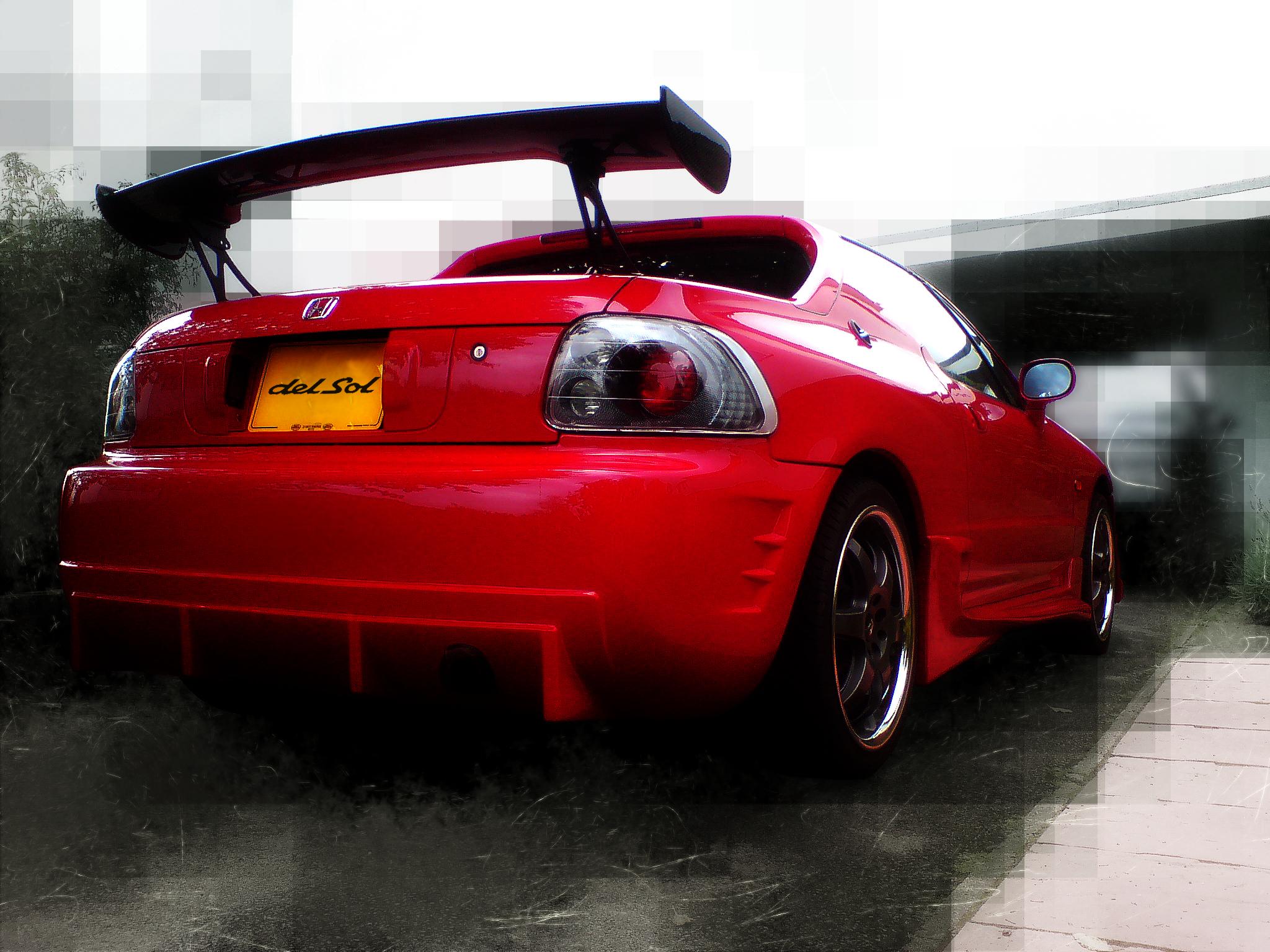 (Honda CRX Del Sol Pho...)