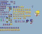 Sonic 1 [GBA] Remake Sonic Sprites