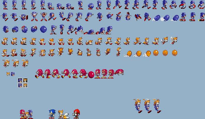 Reshaded 8 Bit Sonic Sprites By Ultraepicleader100 On Deviantart