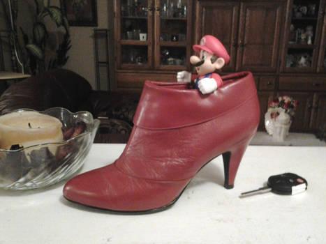 Stiletto Mario in Real Life
