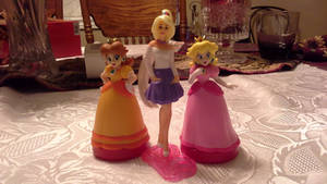 Barbie and the Princesses (Barbie's B-Day/ Mar10)
