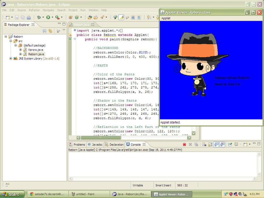 Drawing Lines In Java Applet : Java applet khr by satodei on deviantart