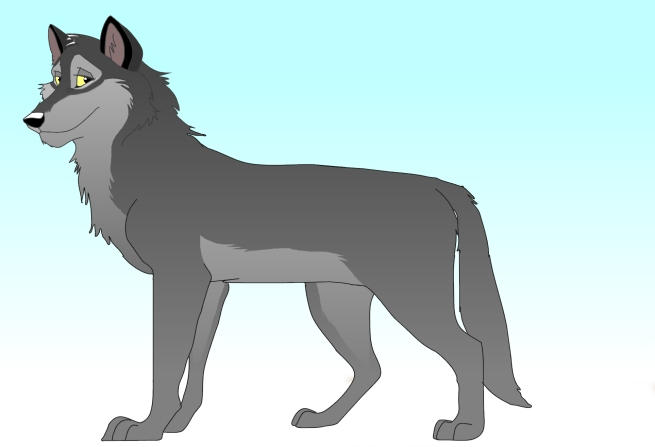 Mouse-drawn wolf by banzai555 on DeviantArt