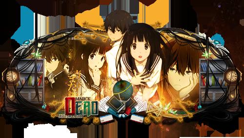 Anime - Hyouka ( Oreki e Chitanda ) by maiickDSG