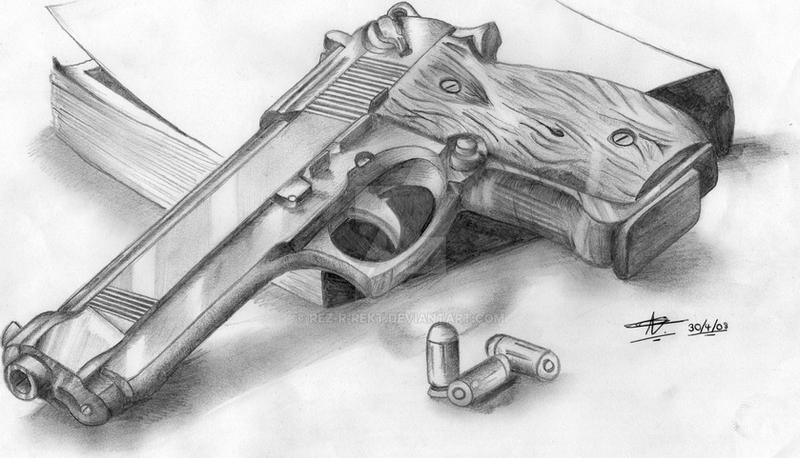 9mm Gun By Rez R Rekt On Deviantart