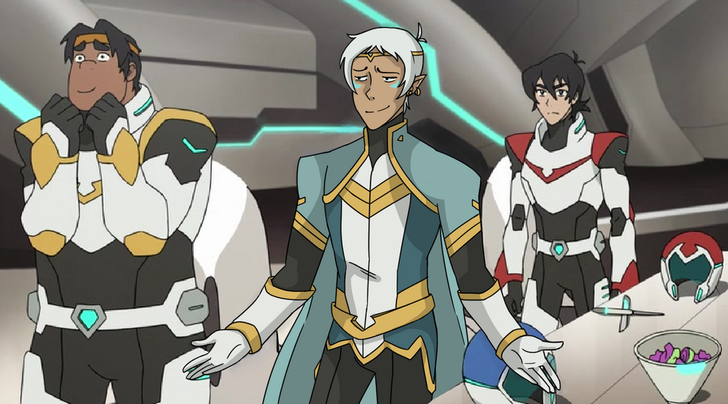 Screen shot edit: Voltron?? by HankyDoesArtz