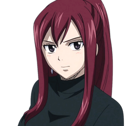 Fairy Tail : Erza Scarlet -SP-16 (Black-1)