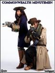[Fallout] - Minutemen General and Preston Garvey by Saerzion