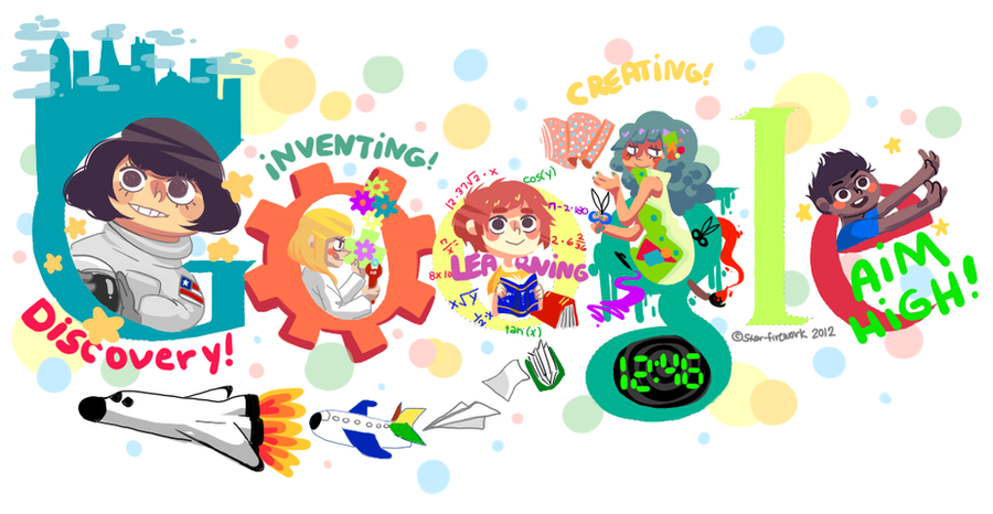 DOOGLE 4 GOOGLE 2012 by star-firework