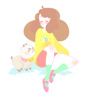 Bee and Puppycat by star-firework