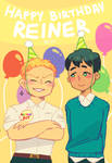 HAPPY BIRTHDAY REINER