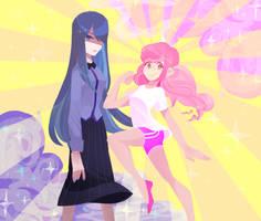 COM: Azura and Sugar by star-firework