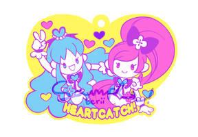 HeartCatch PreCure! Rubber Strap Design by star-firework