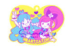 HeartCatch PreCure! Rubber Strap Design