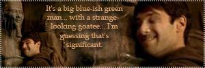 Riley and the Big Blueish Man by emilycrutcher