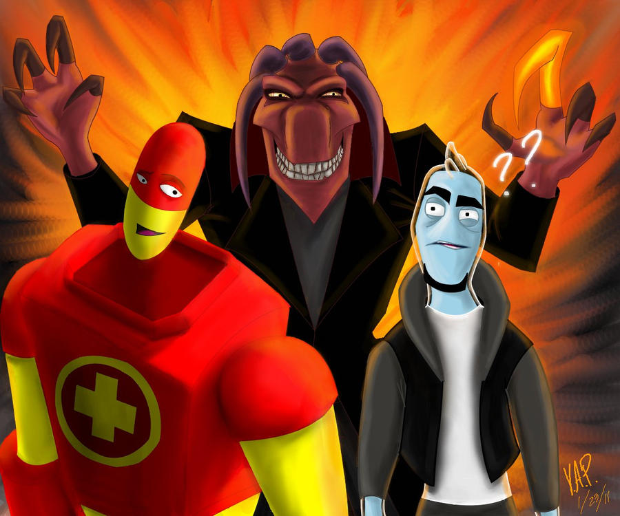 Ozzy And Drix Characters Drix  Ozzy  and Thrax by