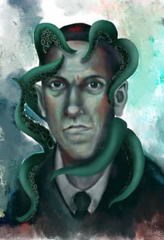 Lovecraft Tentacles And Water Colors