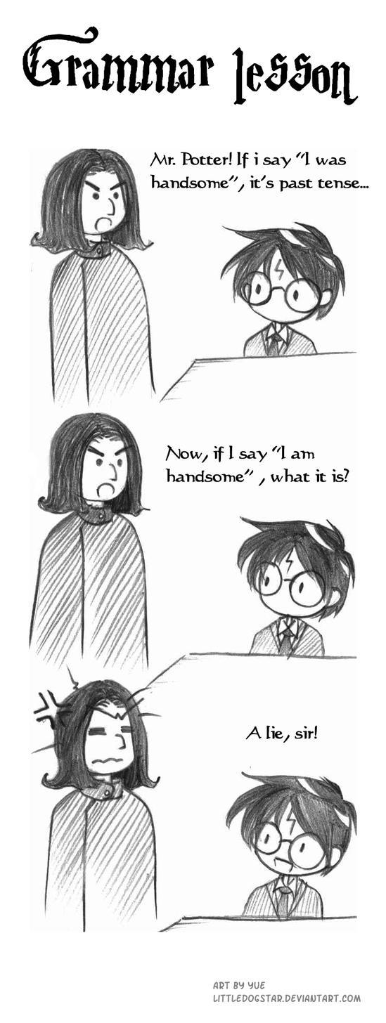 Grammar lessons by LittleDogStar