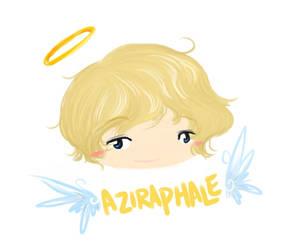 Aziraphale by LittleDogStar