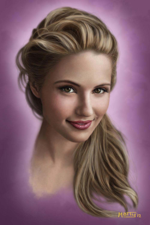 2012 - Dianna Agron by Mattybomb on DeviantArt