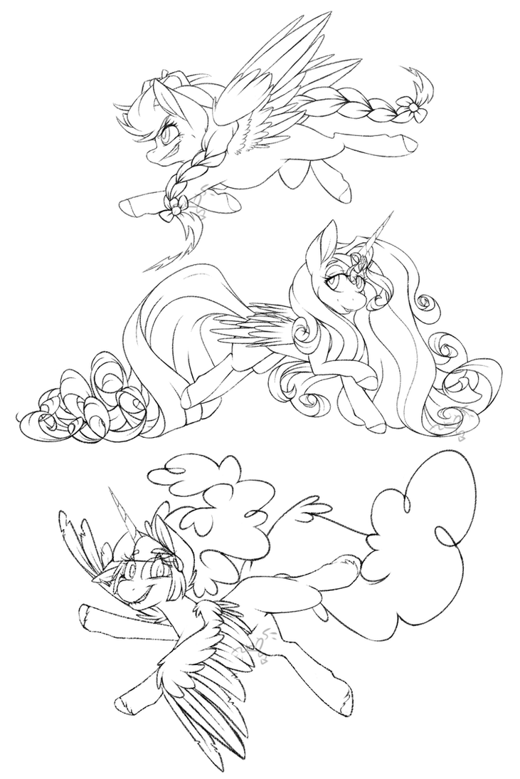 MLP Fusions by teeny16