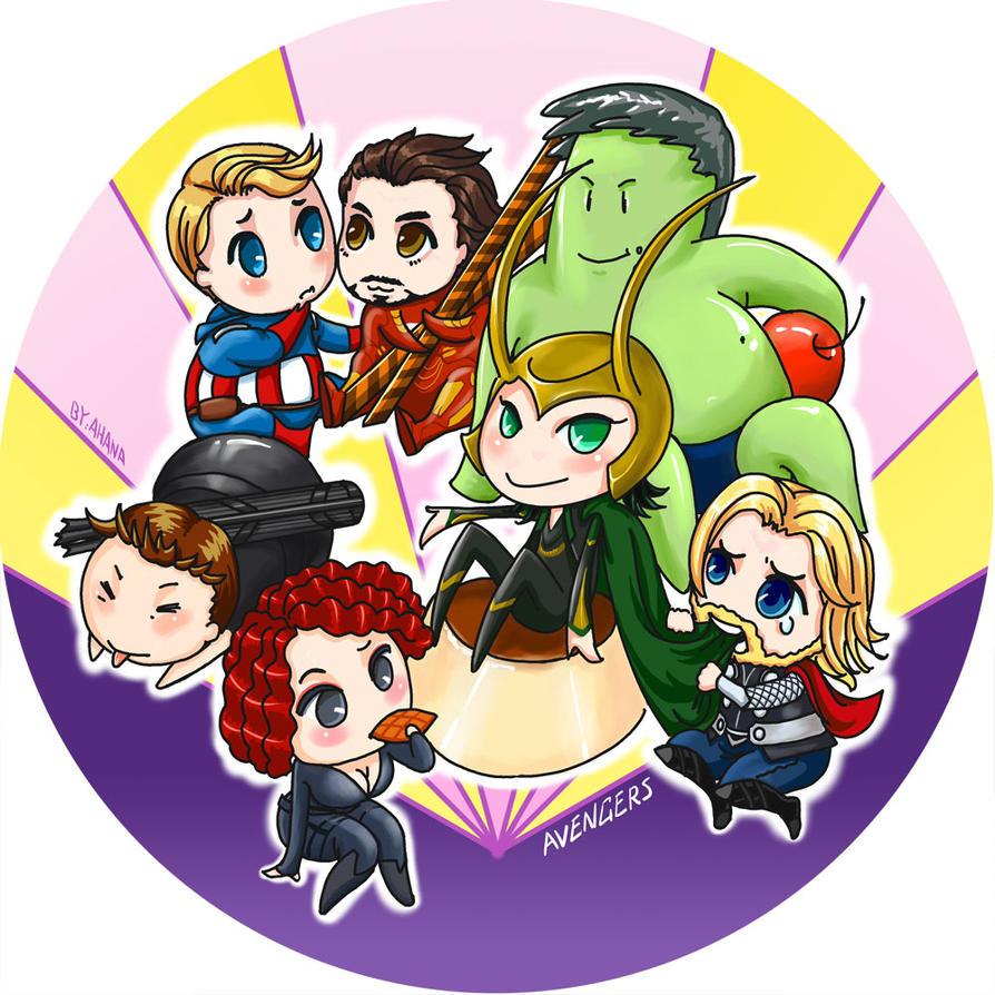 Baby Avengers by yanhualuan on DeviantArt